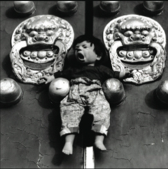 """Untitled photograph by Liu Xia from the """"Ugly Babies"""" series, © copyright 1996."""