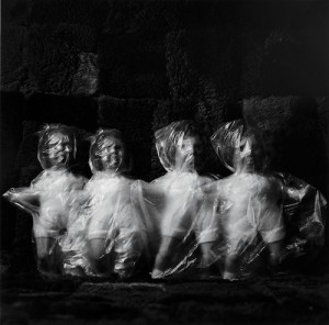 "Untitled photograph by Liu Xia from the ""Ugly Babies"" series, © copyright 1996."