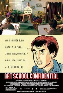 Art School Confidential, DVD cover