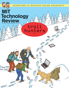 Technology Review, January-February 2014, cover