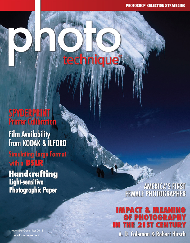 Photo Technique, Nov.-Dec. 2013, cover