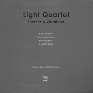 Light Quartet catalogue cover
