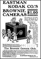 Kodak Brownie Camera Ad