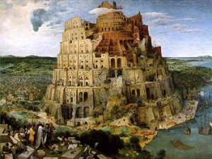 """The Tower of Babel,"" by Pieter Bruegel the Elder (1563)."