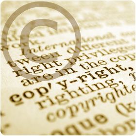 Copyright symbol and dictionary definition