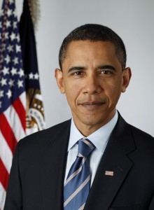 Official portrait of President-elect Barack Obama by Pete Souza on Jan. 13, 2009.