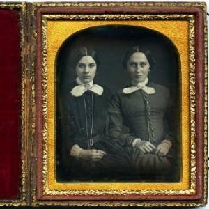 Anonymous daguerreotype, ca. 1865.