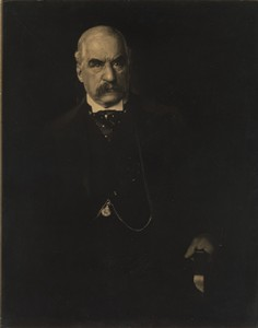 """J. Pierpont Morgan, Esq.,"" 1903, by Edward Steichen."