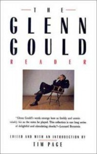 The Glenn Gould Reader, 1990