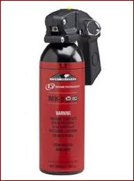 Defense Technology 56895 MK-9 Stream, 1.3% Red Band/1.3% Blue Band Pepper Spray.