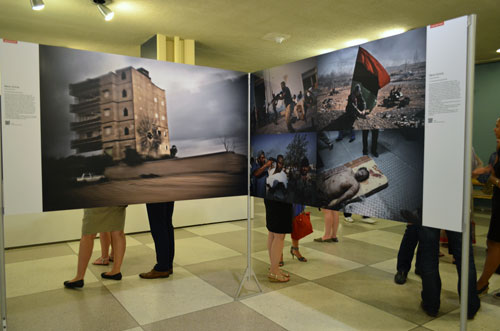 World Press Photo opening, United Nations, NY, 8-15-12. Photo © copyright by Anna Lung.