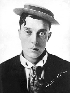Buster Keaton's male gaze.