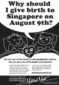 "Singapore ""National Night"" ad, Mentos, 2012."