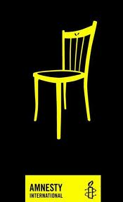 Amnesty International, Empty Chair logo