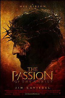 """The Passion of the Christ (2004), theatrical release poster."