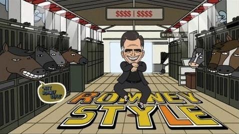 Mitt Romney Style parody, CollegeHumor.com, 2012.