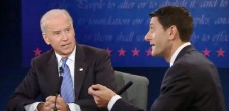 Joe Biden and Paul Ryan debate, 10-11-12, screenshot.