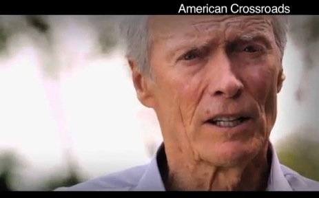 "Clint Eastwood ""Crossroads"" ad, 2012, screenshot."