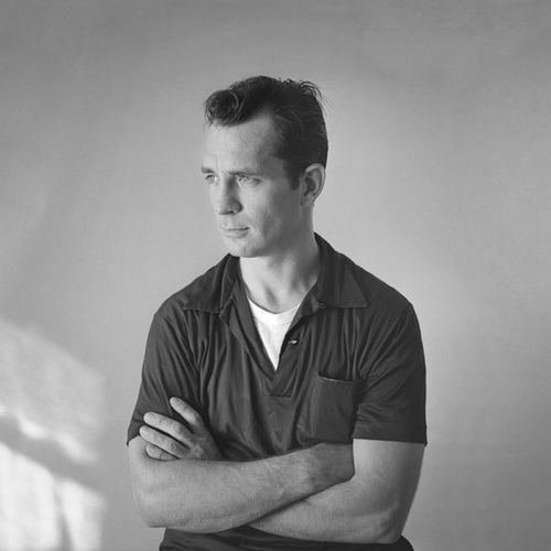 Jack Kerouac. Photo by Tom Palumbo, circa 1956, courtesy Creative Commons.