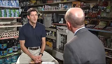 Paul Ryan, WJHL Interview, 8-27-12, screenshot.