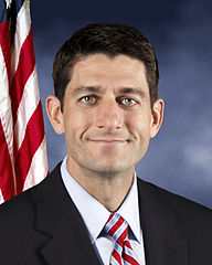 Paul Ryan, official portrait.