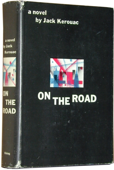 Jack Kerouac, On the Road (1957), cover.