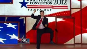 "Mitt Romney goes ""Gangnam Style,"" Republican National Convention, 2012."