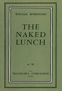 "William Burroughs, ""Naked_Lunch,"" first edition (1959), Olympia Press."