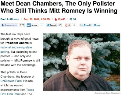 Dean Chambers, Business Insider screenshot, 11-8-12.