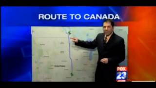 Weatherman Jeff Brucculeri Fox News Tulsa, 11-7-12, screenshot.