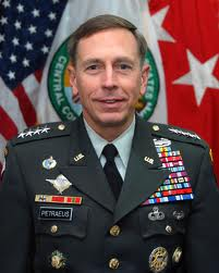 Former U.S. Army General David Petraeus, official portrait.