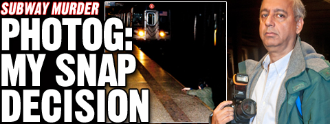 R. Umar Abbasi account of subway tragedy, New York Post, December 5, 2012.