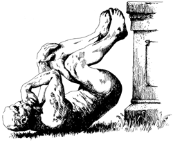 """The Stinker,"" official mascot of the Ig Nobel Prizes."