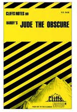 "Thomas, Hardy, ""Jude the Obscure,"" CliffsNotes, cover."