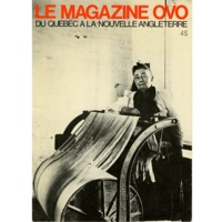 Le Magazine OVO, Vol. 12 (1982), cover.