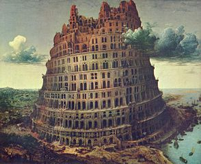 "Pieter Brueghel the Elder (1526/1530–1569), ""The Tower of Babel,"" circa 1563."