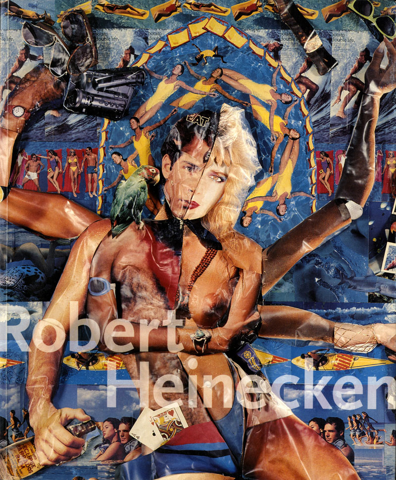 """Robert Heinecken: Photographist,"" catalog, Museum of Contemporary Art, Chicago, 1999 , cover."