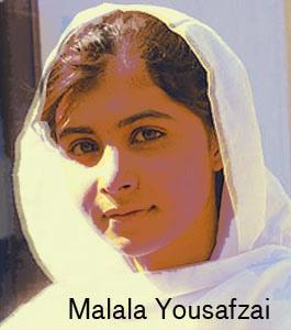 Malala Yousafzai, courtesy Creative Commons.