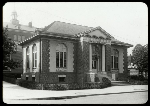 N.Y. Public Library, Stapleton, Staten Island, photographer unknown, n.d.