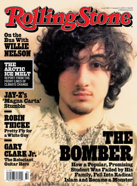Rolling Stone, April 17, 2013, cover.