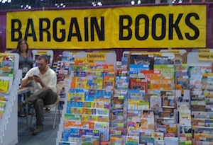 Bargain Books, Javits Center, NY, 5-29-13. Copyright 2013 by A. D. Coleman.