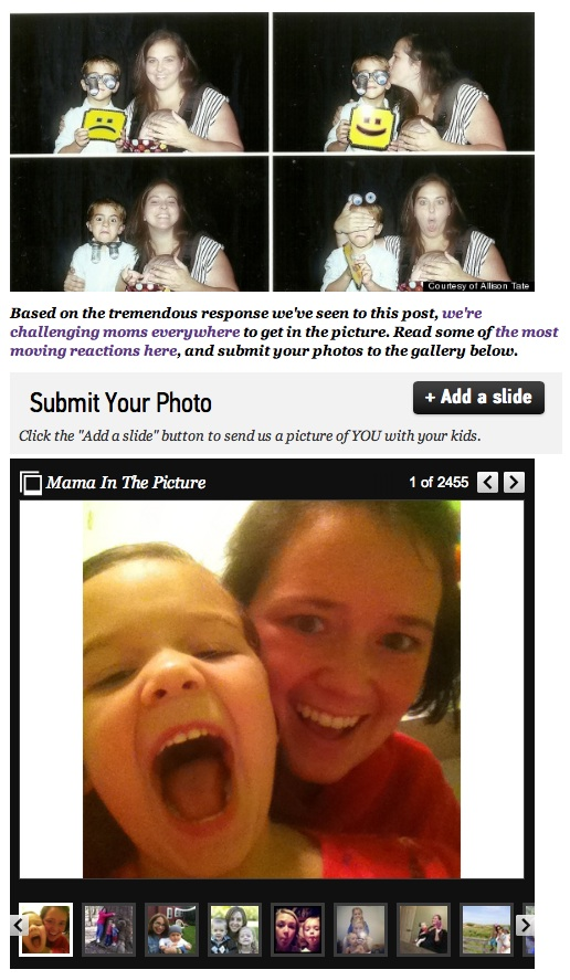 """Moms In the Picture"" screenshot, August 24, 2013."