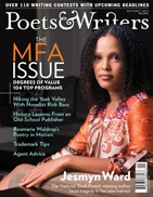 Poets & Writers, September-October 2013, cover.