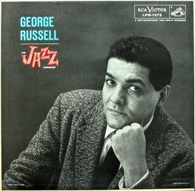 "George Russell, ""The Jazz Workshop,"" 1957, LP cover."