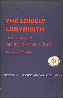 Josiah Thompson, The Lonely Labyrinth (1967), cover.
