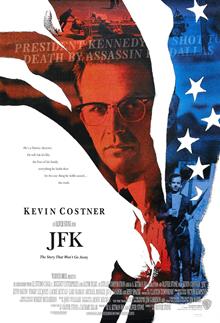 """Oliver Stone, """"JFK"""" (1991), poster"""