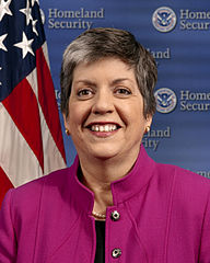 U.S. Secretary of Homeland Security Janet Napolitano, official portrait.
