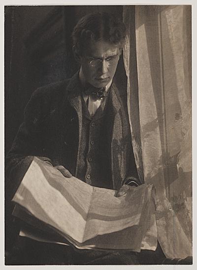 William Ivins, ca. 1900. Photo by Gertrude Käsebier.