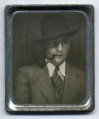 Anonymous Photomatic Photo Booth portrait, ca. 1935