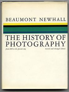 """Beaumont Newhall, """"The History of Photography,"""" cover"""